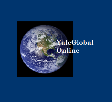 YaleGlobal Online and image of Earth from space - join the conversation